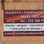 Tesařské práce Heichel Pavel